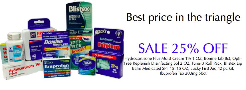 June 25% Sale