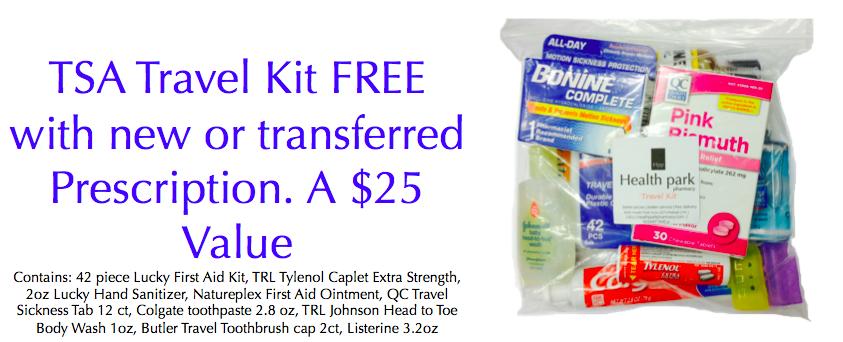 TSA Travel Kit