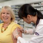 Rexall_Minister Deb Matthews flu shot_2012