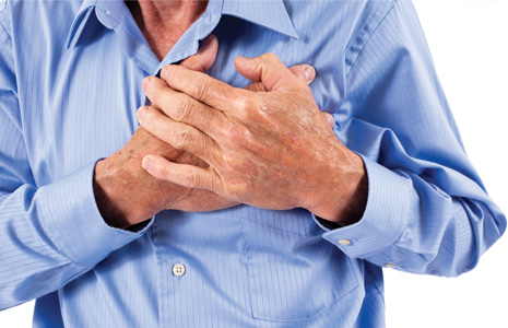 chest clutch